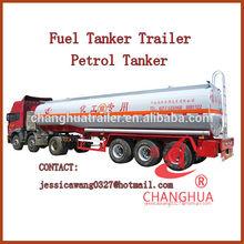 Europ type 3-axle fuel tanker,fuel tanker trailer for sale