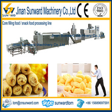 small manufacturing corn snacks food process machines from china