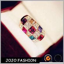 Crystal female ring finger crystal diamond napkin ring