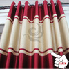 hotel bed room drapes and curtians modern decorative blackout curtain