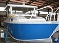 24ft baratos de alumínio do barco de pesca trailler