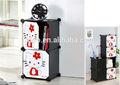 2 cubos de plástico venta caliente de los organizadores del armario para baby fh-al09-2
