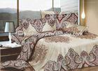 3d damask bed cover set quilt/3d bedspread