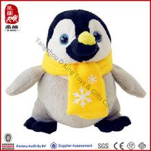 Plush Animal Toy ICTI SEDEX Baby Toy Stuffed Promotion Penguin