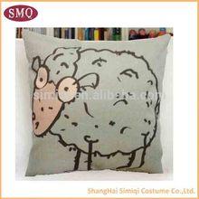 2014 wholesale popular cow print cushions
