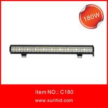 ce rohs 180w led bar lights led visor light bar