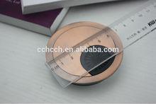 hotsales zinc alloy wire box cable grommet for computer desk (CG1211)