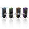 universal micro usb rcf electronics car charger with led light car charger in car charger