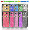 Luxury diamond bling phone case for samsung galaxy s3 i9300