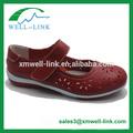 moda suave confort casual de las señoras zapatos de cuero mujer