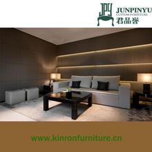2015 hot sell elegant amani design hotel living room sofa set