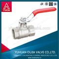 De aluminio o de acero inoxidable y material eléctrico& hydrulic de gas de la válvula