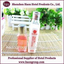 unique design perfume shower bottled hotel bath gel wholesale