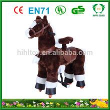 Lovely Toys !! walking animal rides, wooden rocking horse toy, ride for kiddie