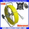 120m waterproof endoscope pipe inspection camera