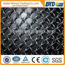 decorative aluminum expanded metal mesh / decorative gabion mesh /decorative metal mesh curtain