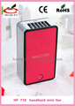 Mini-condicionador de ar portátil de bateria recarregável operado fan