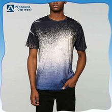 fashion blank tee design mens wholesale acid wash t shirts