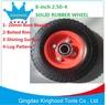 Heavy Duty Solid Rubber Wheel 8x2.5in