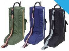 English Riding Long Boot Carry Bag 3 Layers Padded Select Color