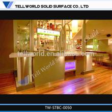 Good sale modern design small acrylic led bar tables