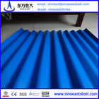 Hot!! Chinese mill supply standard prepainte ocean blue paint color roofing sheets specifications factory prices