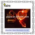 Wholesale heart shape led necklace/flashing led necklace
