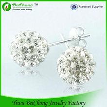 Hot sale fashion earring designs new model crystal earring R3-0057