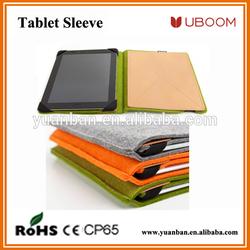 Felt laptop tablet sleeve case for 10 inch tablet pc