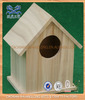 Eco-friendly new unfinished wooden bird house wholesale,cheap bird houses,wood carved bird houses
