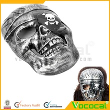 Plastic Cool Pirate Skull Face Halloween Carnival Decoration Fancy Dress Party Mask