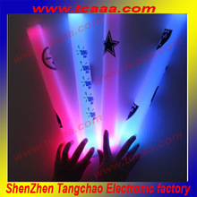 Flashing colorful foam led stick ideal cheering product for party glow led stick