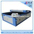 130w taglio laser macchina con due testa e ruida sistema di controllo(zk- 1525)