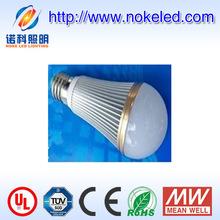 180 degree Aluminum 7w Solar 12v Led Bulb E27