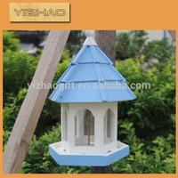 Eco-friendly FSC Hanging Wooden Bird Cage,wire mesh & wooden bird cage
