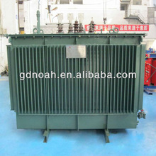 10kv copper winding amorphous alloy core used oil immersed power electrical 3 phase step down transformer