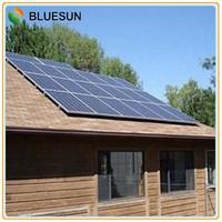 Bluesun most popular on-grid 5kw solar power home system