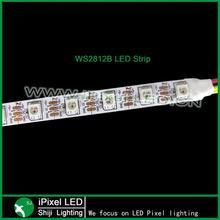 dmx ws2812 rgb led digital addressable pixel waterproof flexible strip