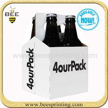 beer bottle carton,4 pack beer cartons,beer tray carton