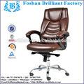Pneumático de ajuste de altura couro cadeira alta bf-8865a
