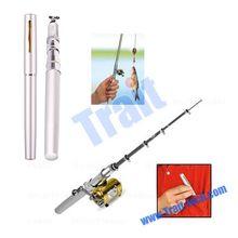New Arrived Deluxe Mini Retractable Fishing Rod Blanks Wholesale Pen Kit