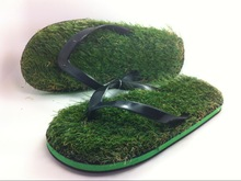Coface Natural Grass Hot Popular Thick Sole Uisex Sandal Shoes