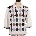 Argyle sweater knitting pattern