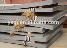 Astm a36 placa de acero/laminado en caliente leve carbono hoja precio/estándar de la placa de acero de espesor