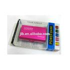 Wholesale fancy transparent gift boxes, PVC plastic power bank packaging