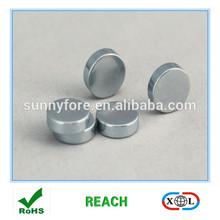zinc coating round furniture magnets
