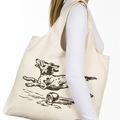 الصين المورد أعرب بابا المنتجات الجديدة 2014 المادة شخصية، حجم، اسم المدينة لون وشعار المطبوعة حقيبة قماش