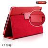 book design case for ipad mini,high quality red pu case