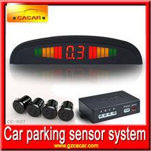 Hot sale and good quality Manufacturer LCD led parking sensor system car reverse backup radar