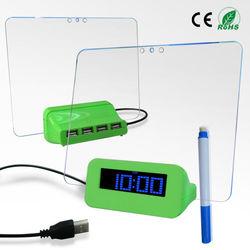 creative home decoration alarm desk clocks